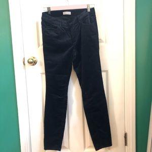 LOFT black cordoroy pants sz. 26/2